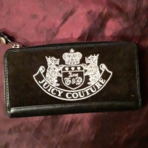 Juicy couture  wallet black /white
